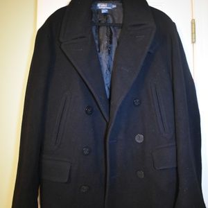 Polo Ralph Lauren mens wool coat